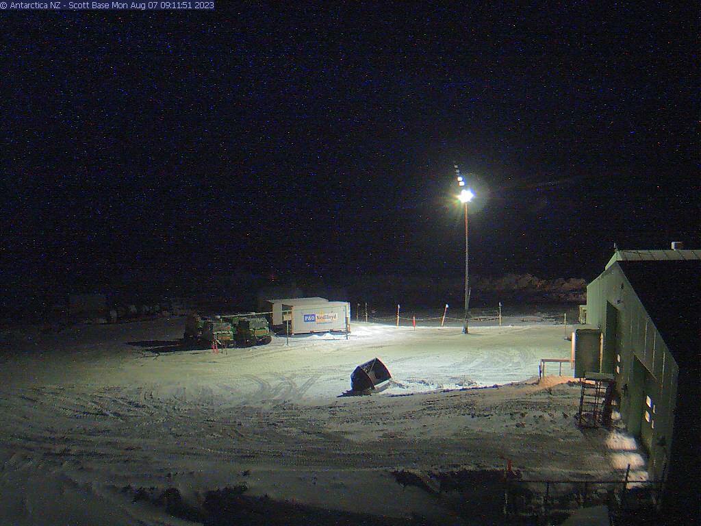 Новозеландская антарктическая научная станция Скотт-Бейс